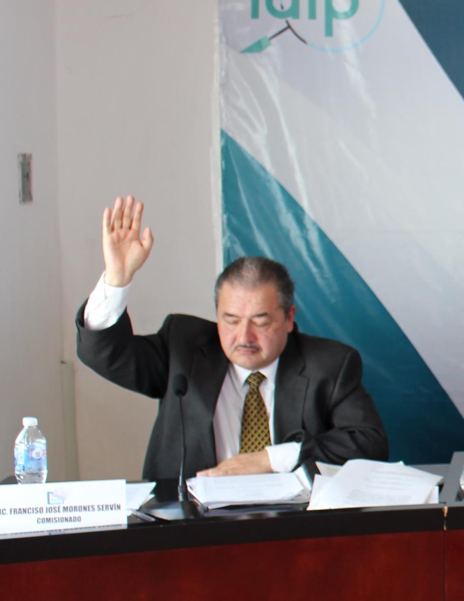 Lic. Francisco José Morones Servín