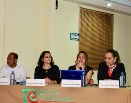 Imparte la Presidenta del IAIP Marlene Alonso Meneses, la Conferencia el Derecho de Acceso a la Información y la Rendición de Cuentas en el Colegio de Tlaxcala