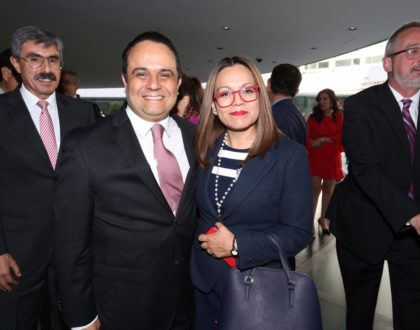 Asiste la Comisionada Presidenta Marlene Alonso Meneses al Informe de Labores del Presidente del INAI