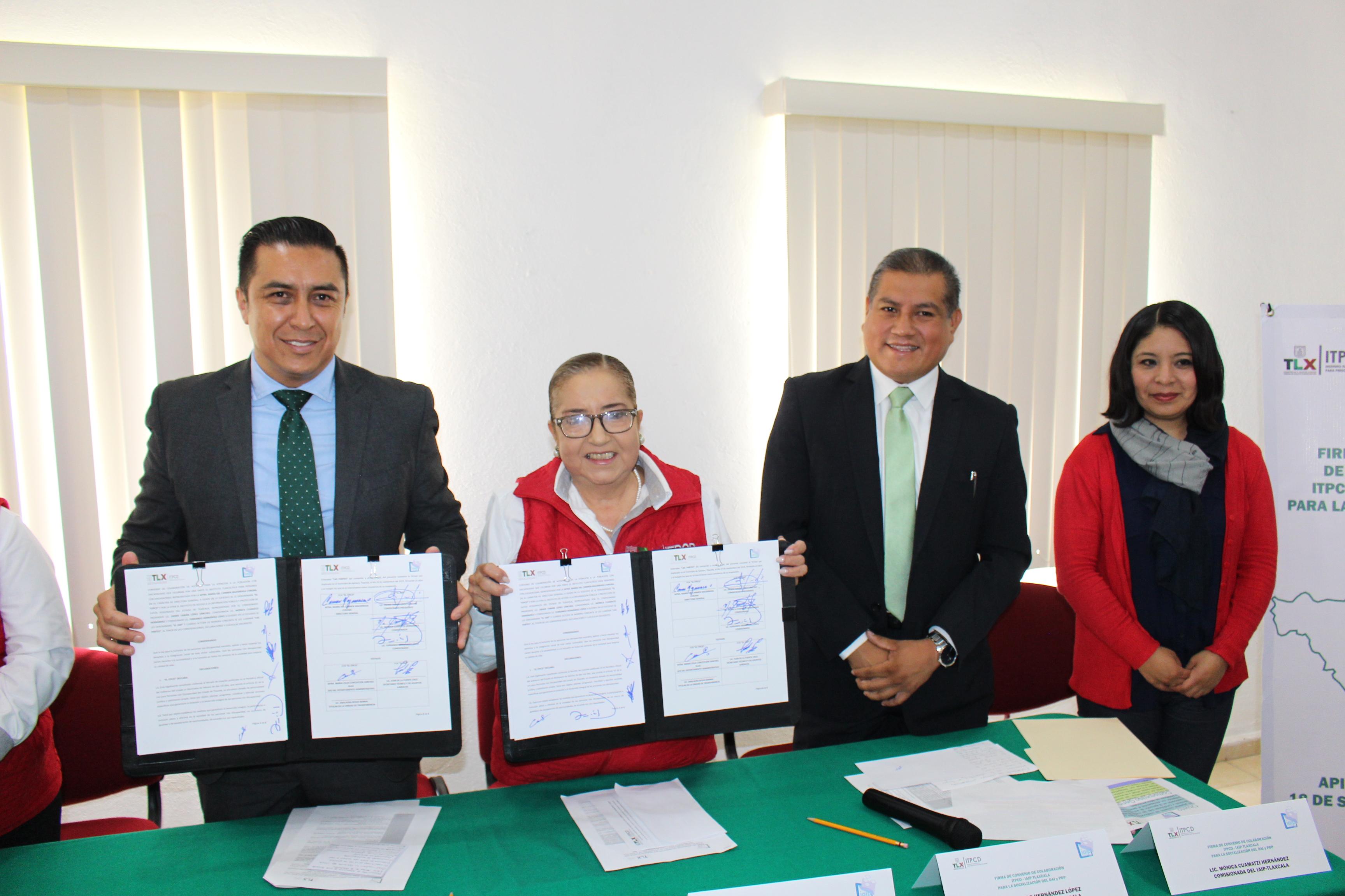 IAIP publicará Ley de Transparencia en formato braille