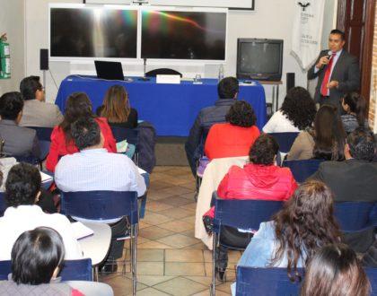 Diserta Didier López Sánchez sobre deberes en la protección de datos personales