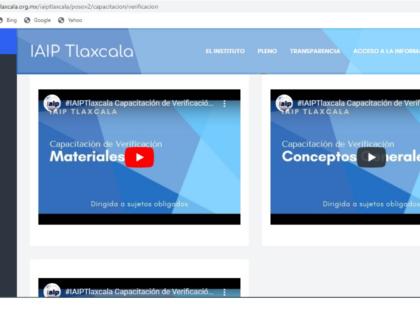 Aún en etapa de confinamiento, IAIP promueve cumplimiento de obligaciones de transparencia