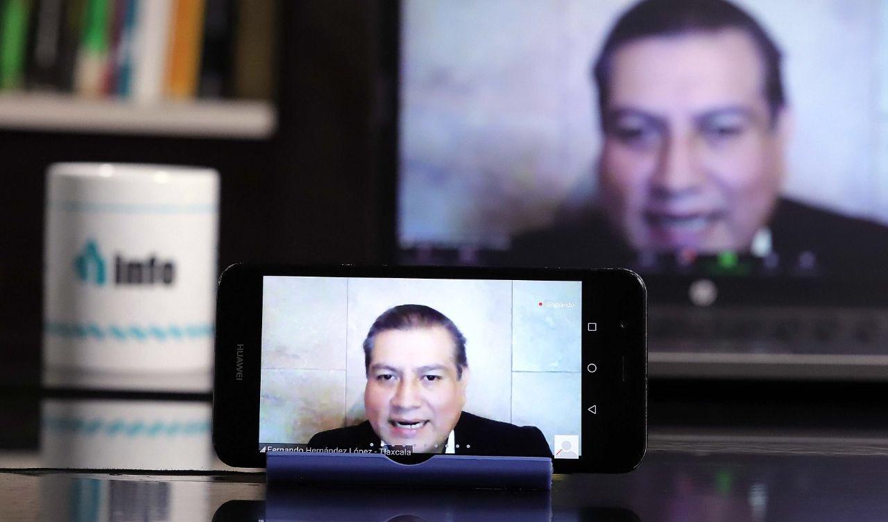 Mayor uso de internet por pandemia, requiere elevar protección de datos personales: Fernando Hernández
