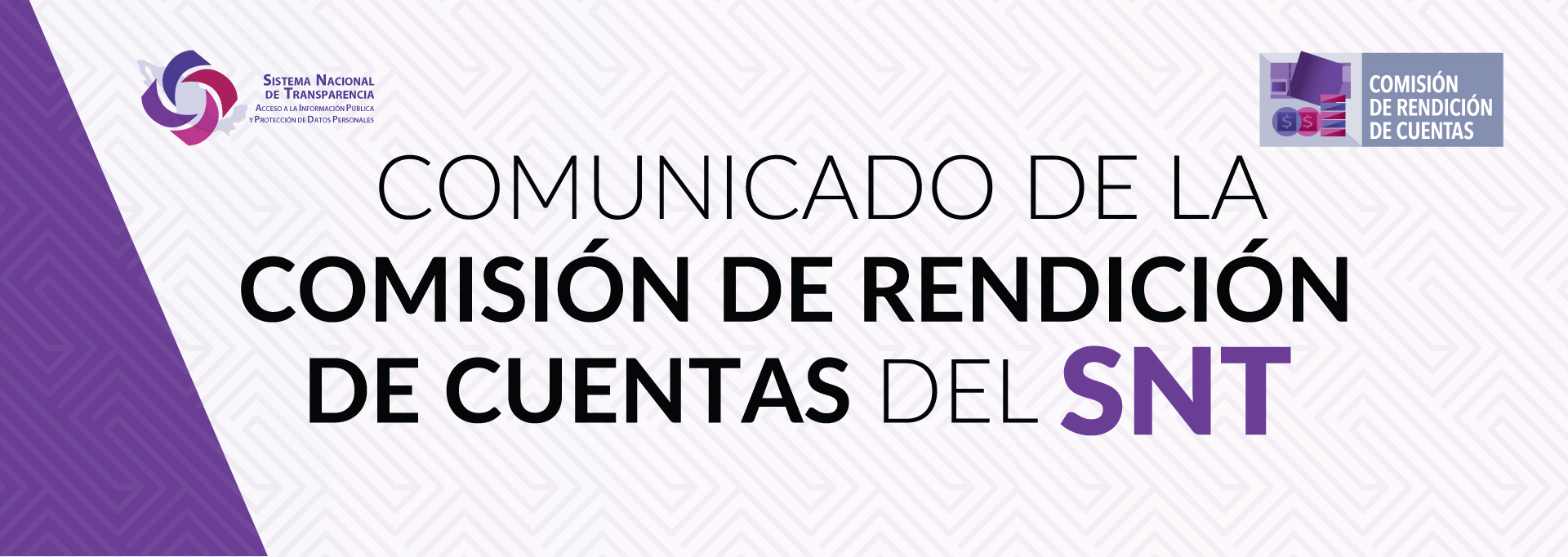 COMUNICADO DE LA COMISIÓN DE RENDICIÓN DE CUENTAS DEL SISTEMA NACIONAL DE TRANSPARENCIA