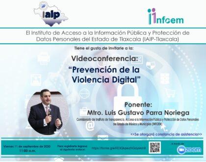 """IAIP invita a conferencia sobre """"Prevención de Violencia Digital"""""""