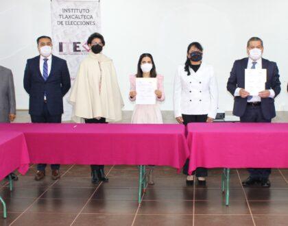 IAIP e ITE signan convenio de colaboración en materia de transparencia y protección de datos personales