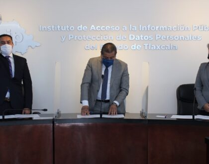 Designa Consejo General de IAIP, a Didier Fabian López Sánchez como presidente en 2021