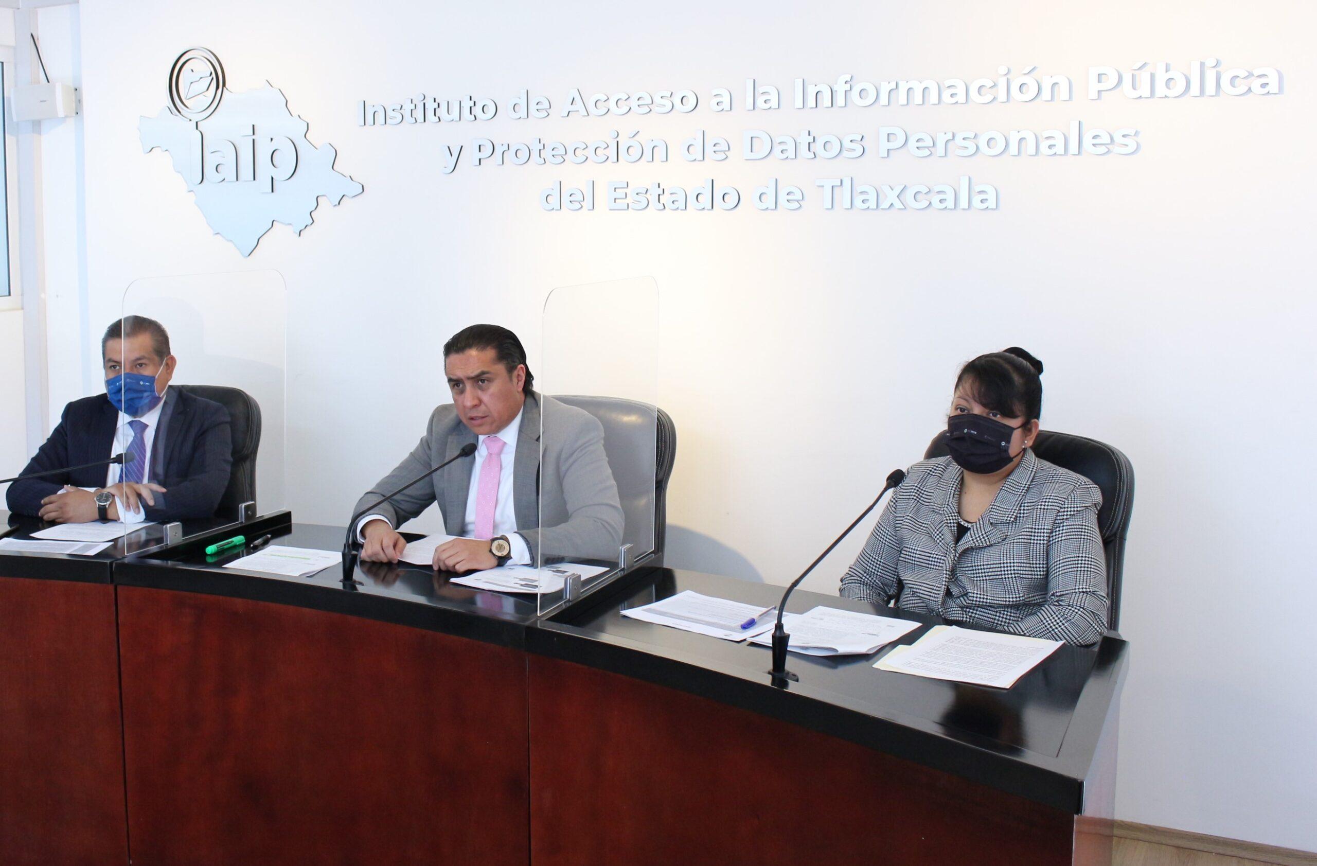 INAI reconoce presentación de Plan de Trabajo IAIP 2021 como modelo de rendición de cuentas