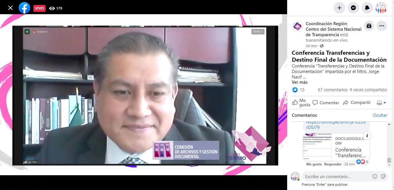 Archivos, base fundamental para ejercer el DAI: Hernández López
