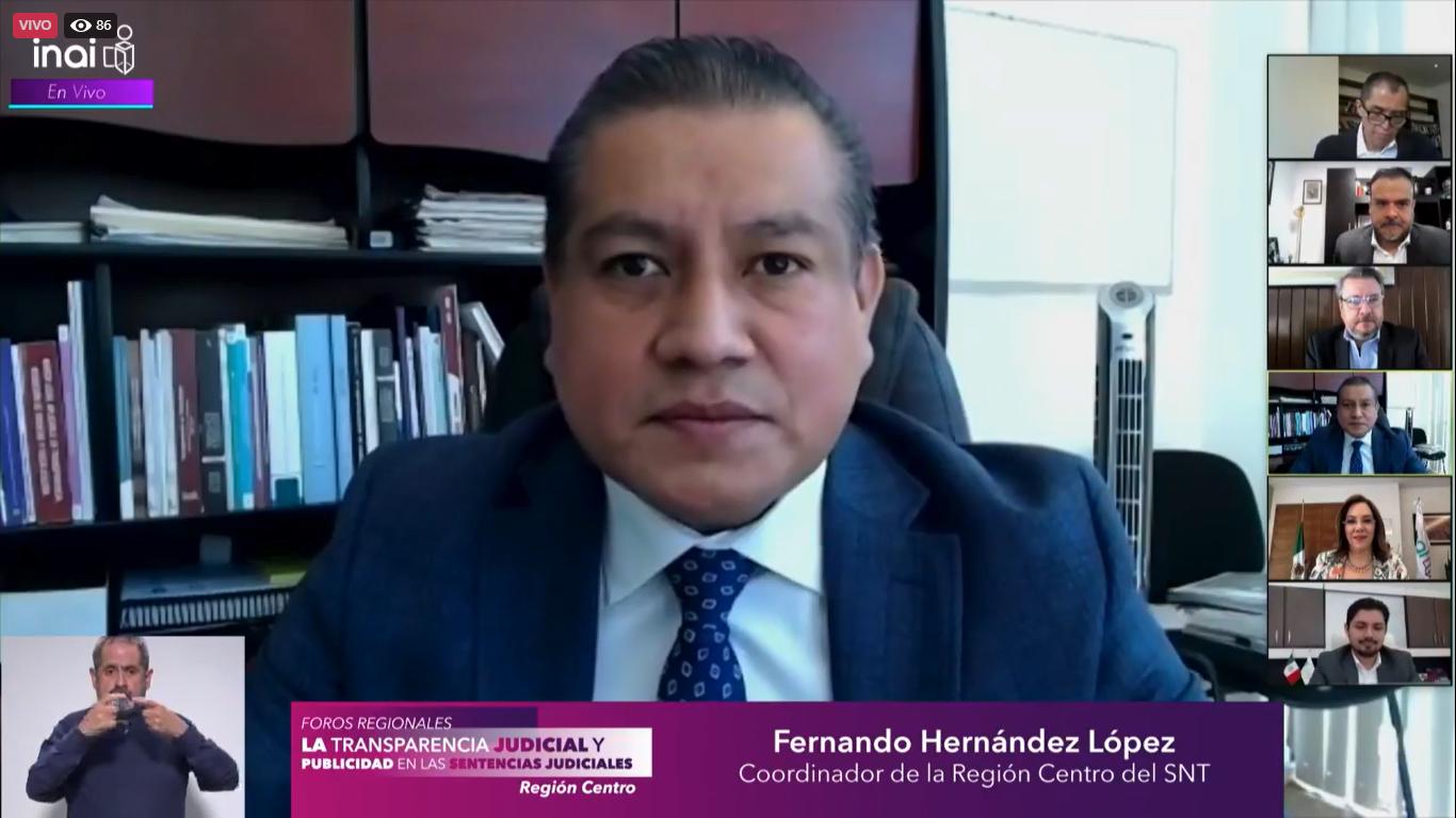 Sentencias judiciales públicas son Información de utilidad ciudadana: Hernández López
