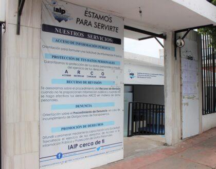 IAIP urge a autoridades a cumplir con obligaciones en materia de transparencia