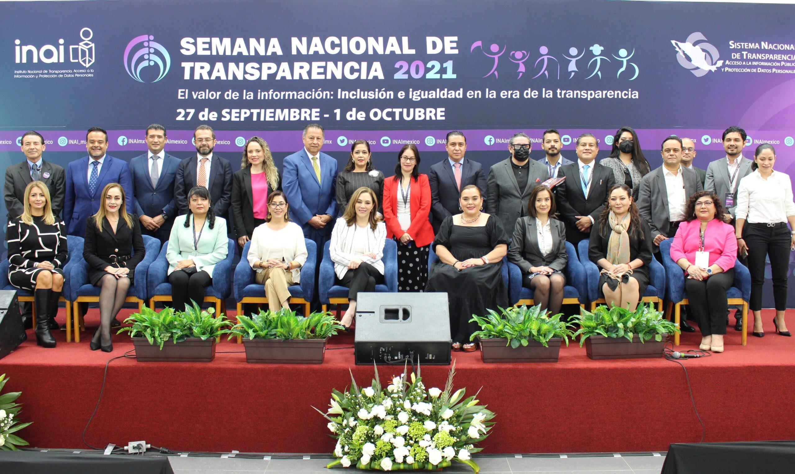 Cierra con éxito la SNT 2021 en Tlaxcala; INAI y Órganos Garantes muestran cohesión y unidad